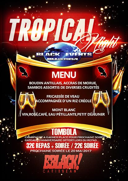 22/04/17 - Soirée tropical night - Marseille