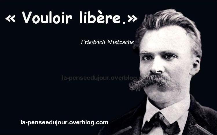 Citaten Nietzsche : La pensée du jour votre de citations paroles