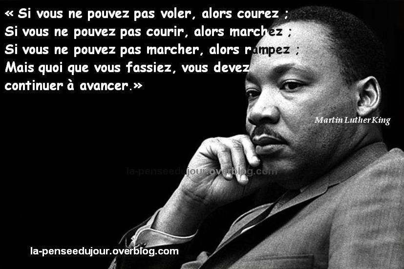 Citaten Martin Luther King : Les personnes tres performantes realisent des choses
