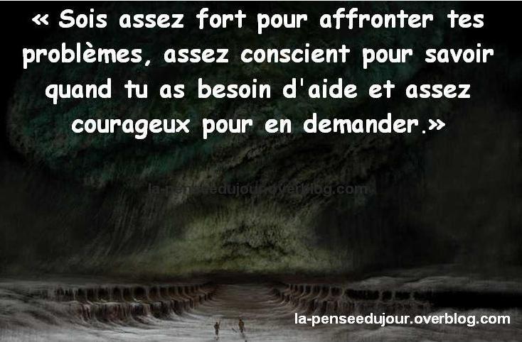 Determination Prise De Conscience Courage La Pensée Du Jour