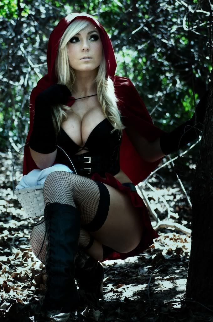 Little Red riding hood is vers sexy this year