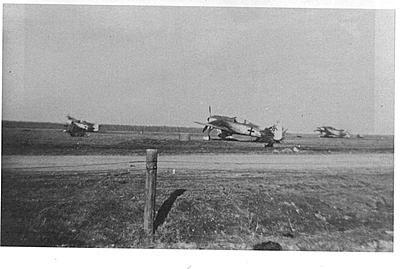 fw 190 A-8 de la JG54 en alerte, prêts à bondir !