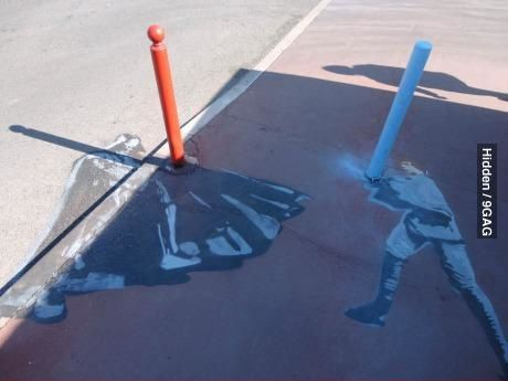 Star Wars on the street