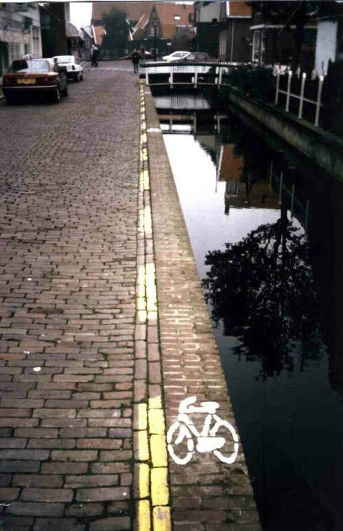 Piste cyclable FAIL