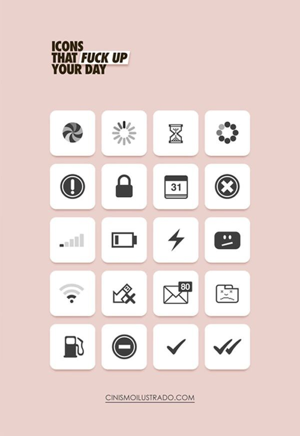 Icons That F**k Up Your Day