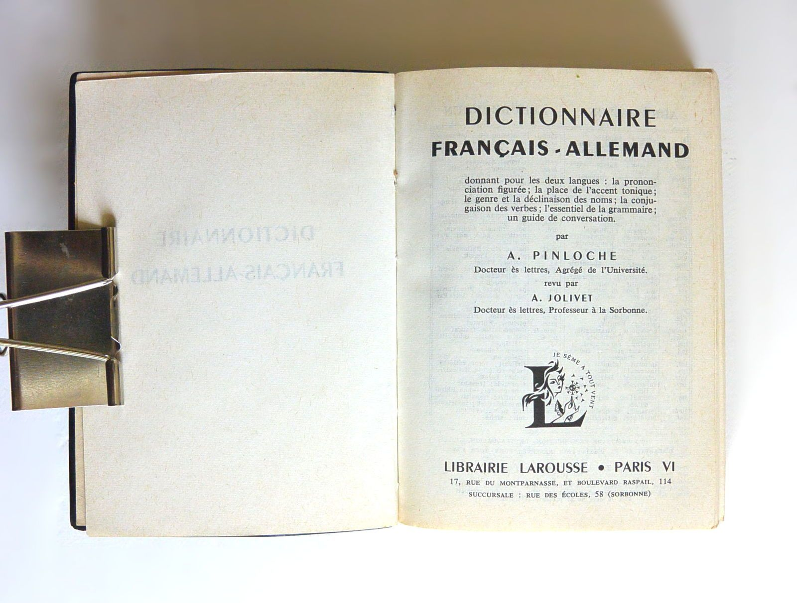 traduction allemand français larousse