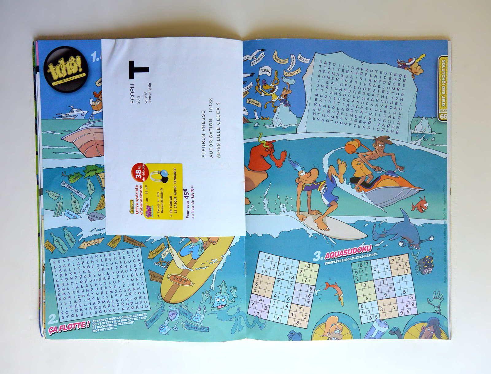Magazine &quot&#x3B;Tchô, le Mégazine&quot&#x3B; n°158 du 07/2012