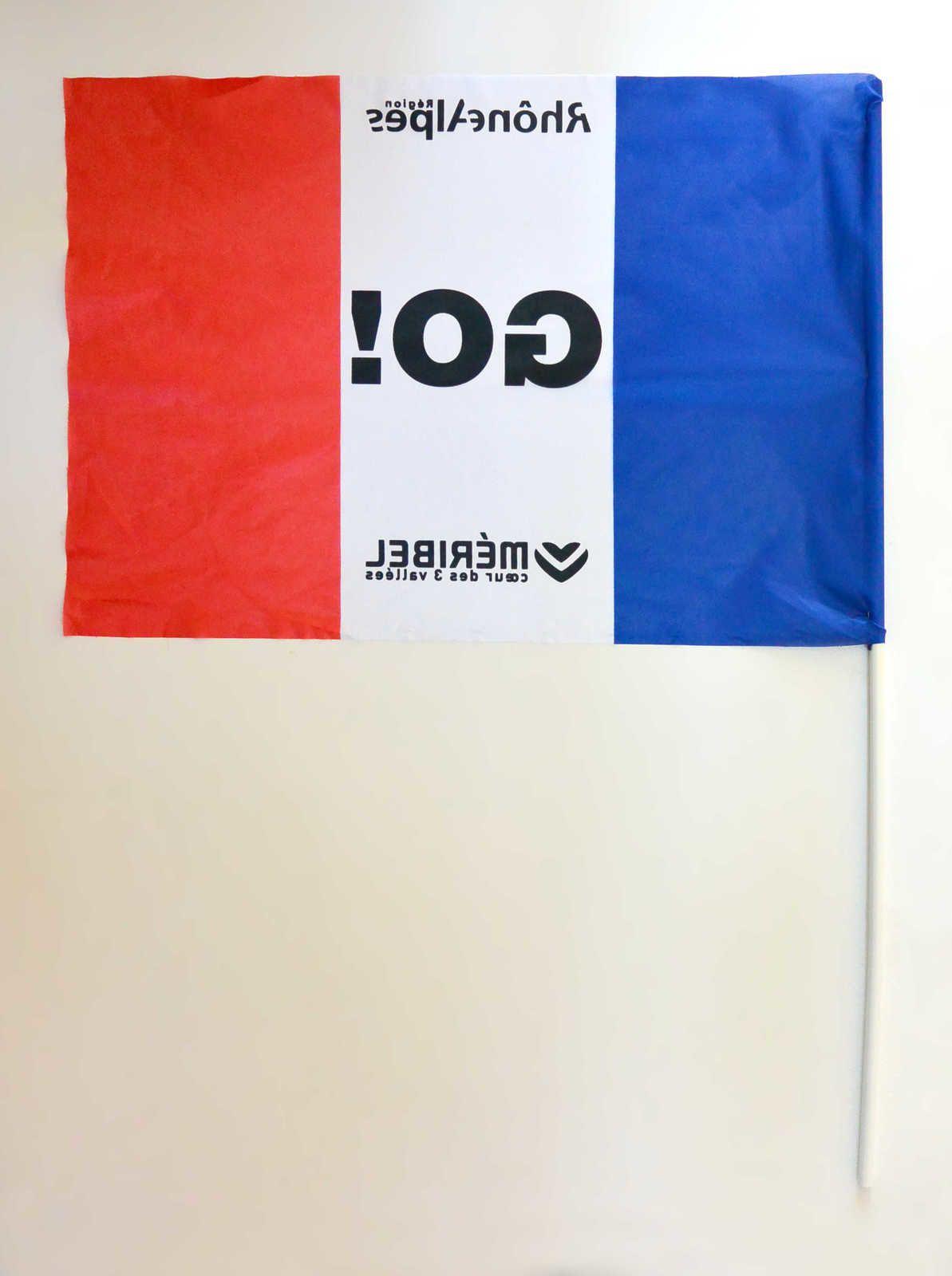 Drapeau France coupe du monde de ski alpin 2015