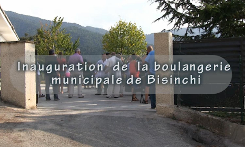 Reportage CorsicaTV.NET Inauguration de la Boulangerie de Bisinchi