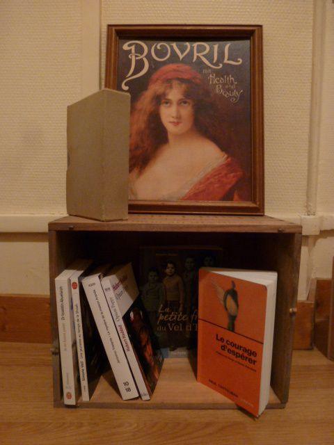 On ne critique pas ma bibliothèque, je suis assez pauvre en meuble pour le moment!!