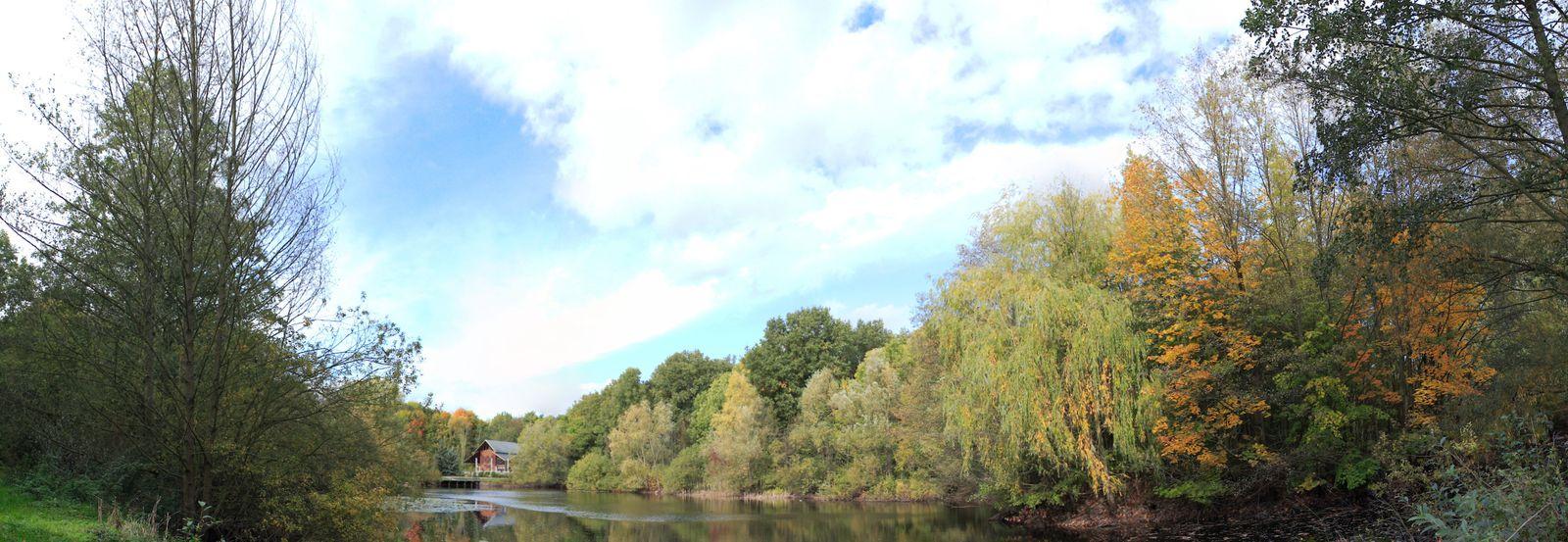 Wildparksee an der Gaststätte