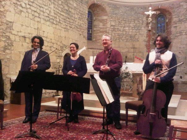 Invités par les Musicales de Thèze,  à l'église de Thèze le 23 mars 2013