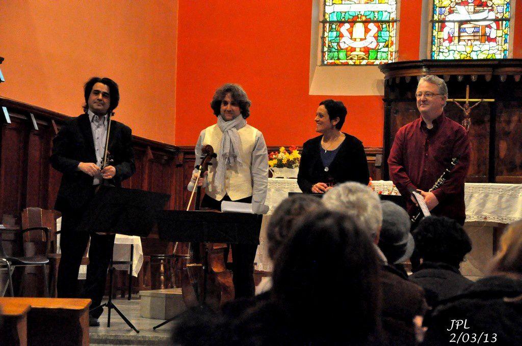 Concert à GAN le 2 mars 2013