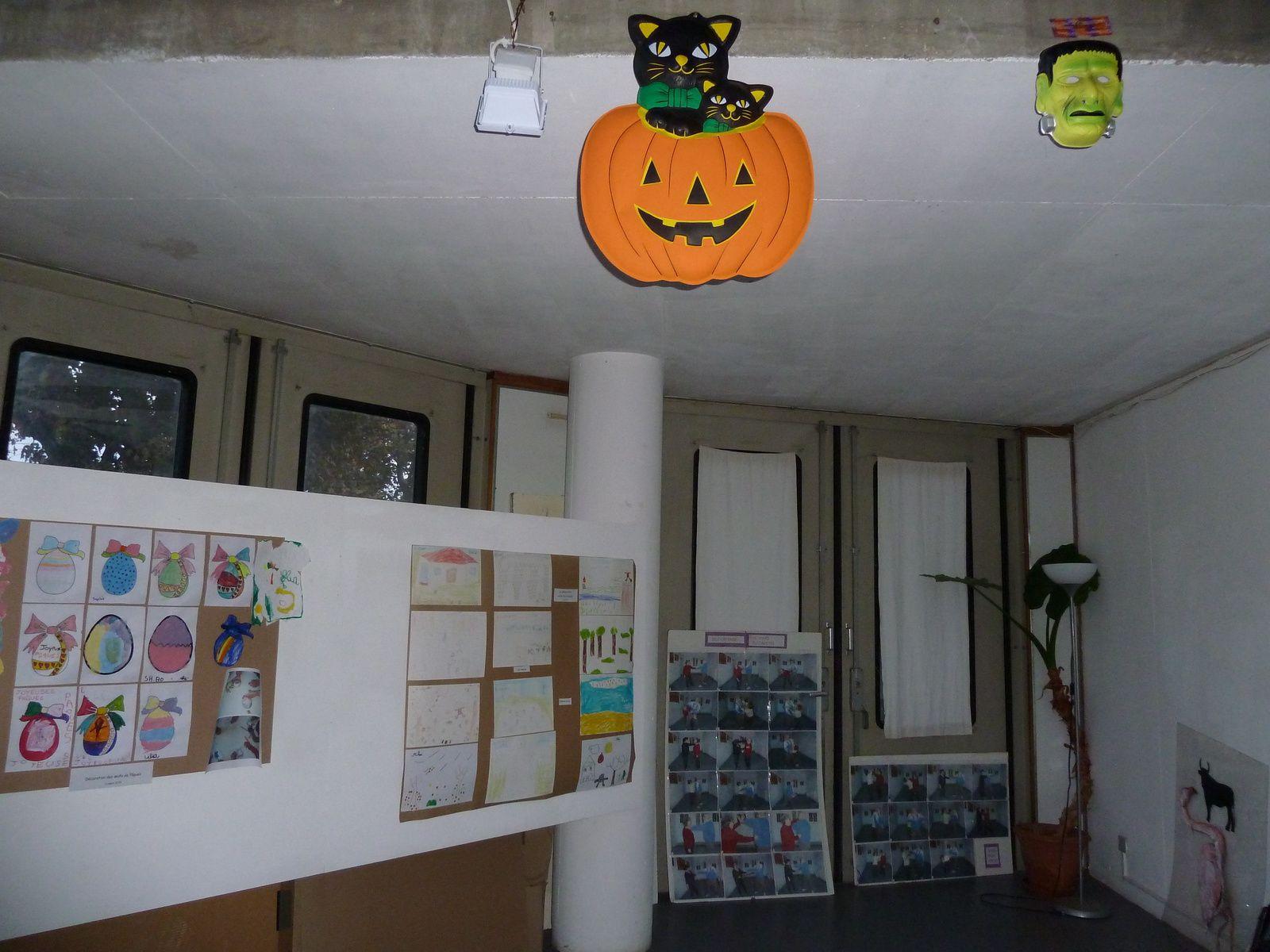 Le décor d'Halloween