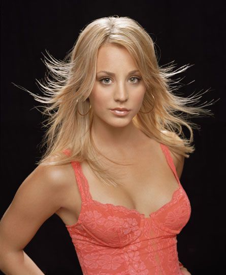 Penny aka Kaley Cuoco, le fille de la série The Big Bang Theory