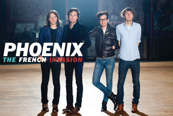 Le prochain album de Phoenix leaké sur soundcloud (updated)