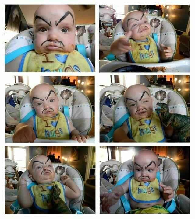 Maquiller son bébé