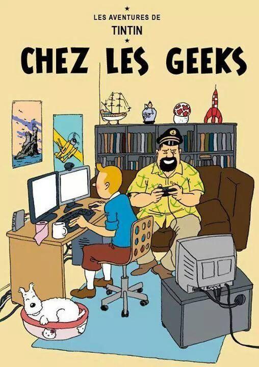 Tintin chez les geeks