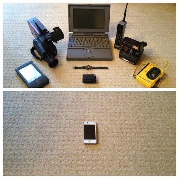 Un smartphone résumé en 1 image