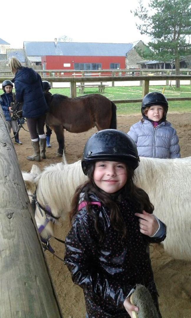 Classe Poney : 2èmes nouvelles des enfants