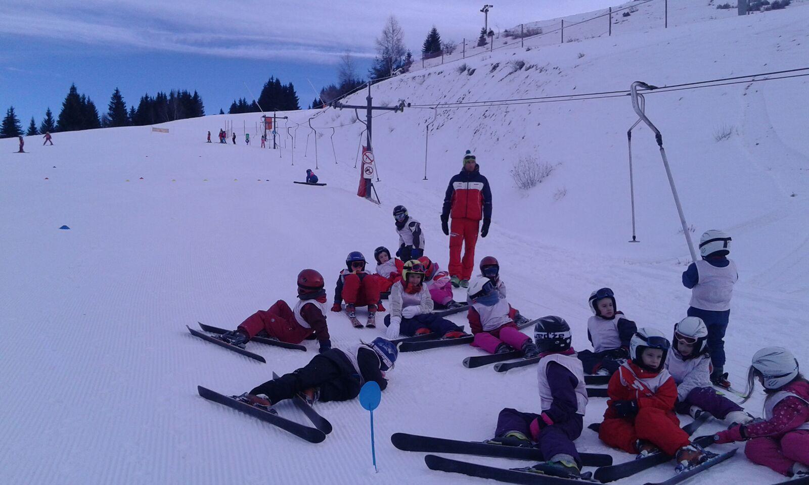 Mercredi 25 janvier 2017 10h00 : nouvelle journée de ski pour les plus petits