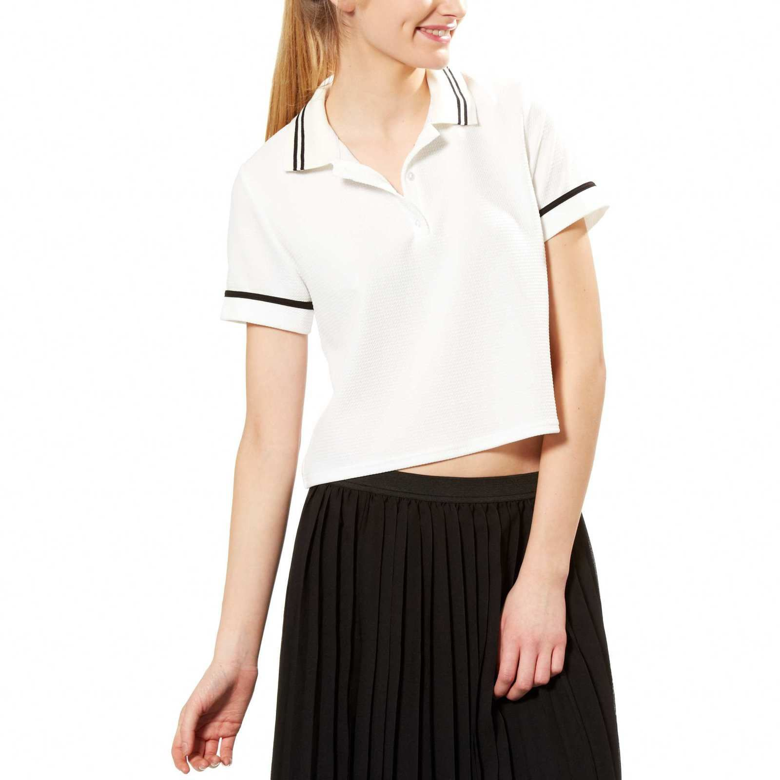 Polo cropped Kiabi, 13 €