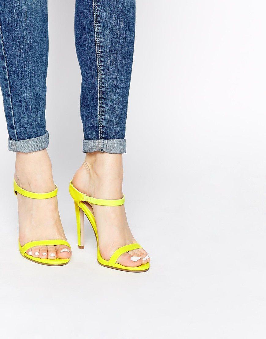 Sandales à talons Asos, 51,99 €