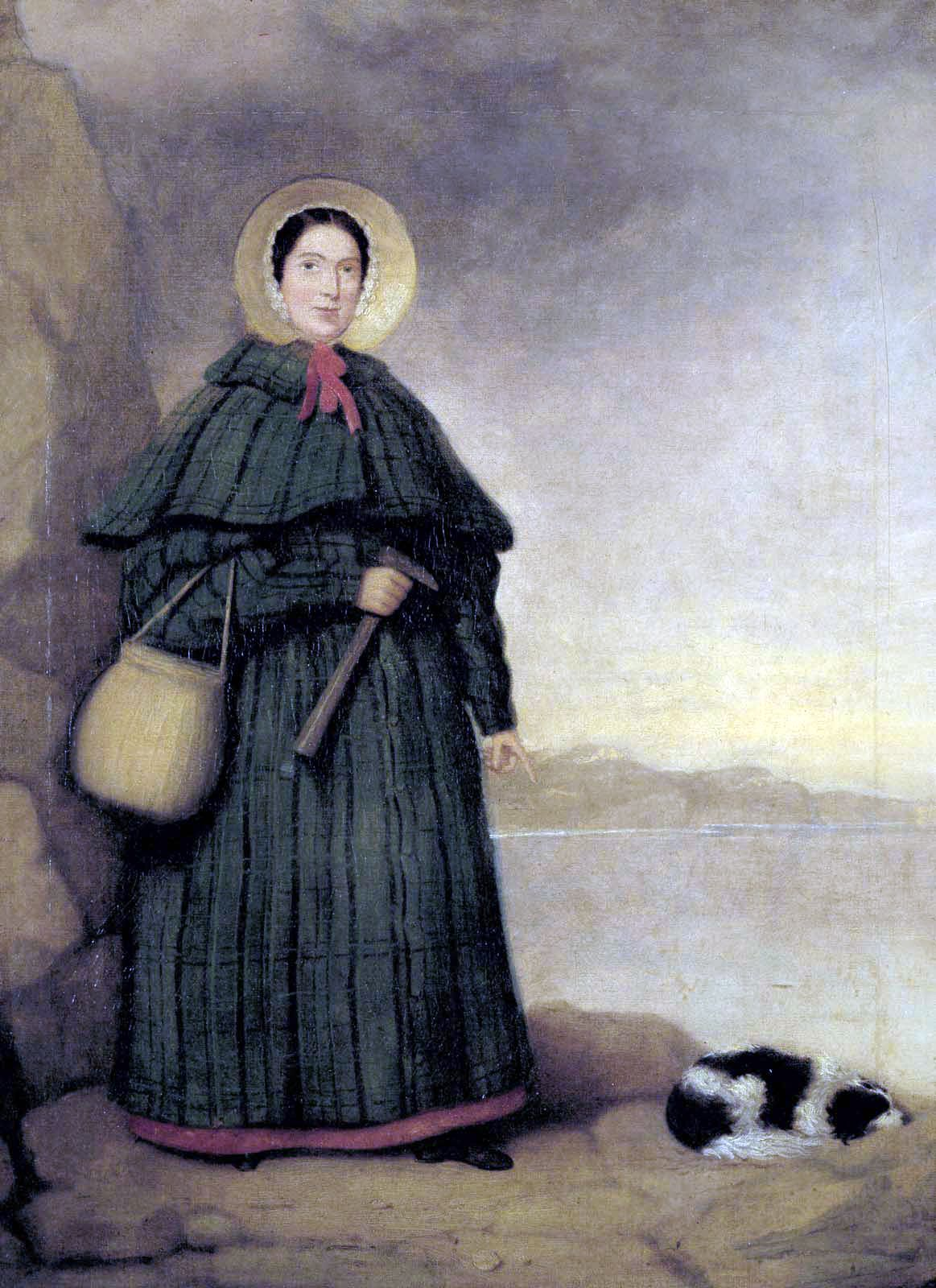 Tableau de Mary Anning (internet)