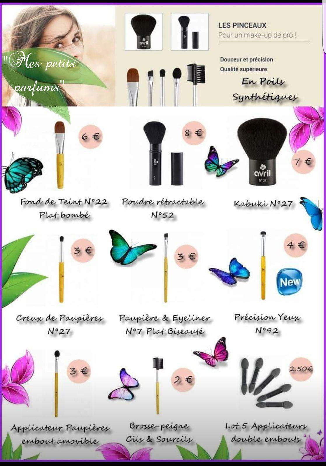 Catalogie cosmétique bio et vegan