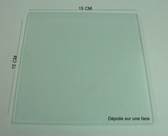 Le mat riel de base ma vie en fimo for Plaque verre table