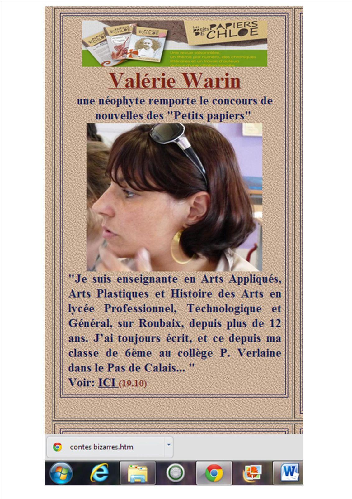 L'actu de chez Chloé des lys 19.10.2012