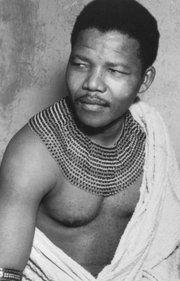 Nelson Mandela negli anni '50