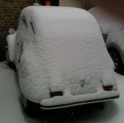 C'est L'hiver, sous la neige