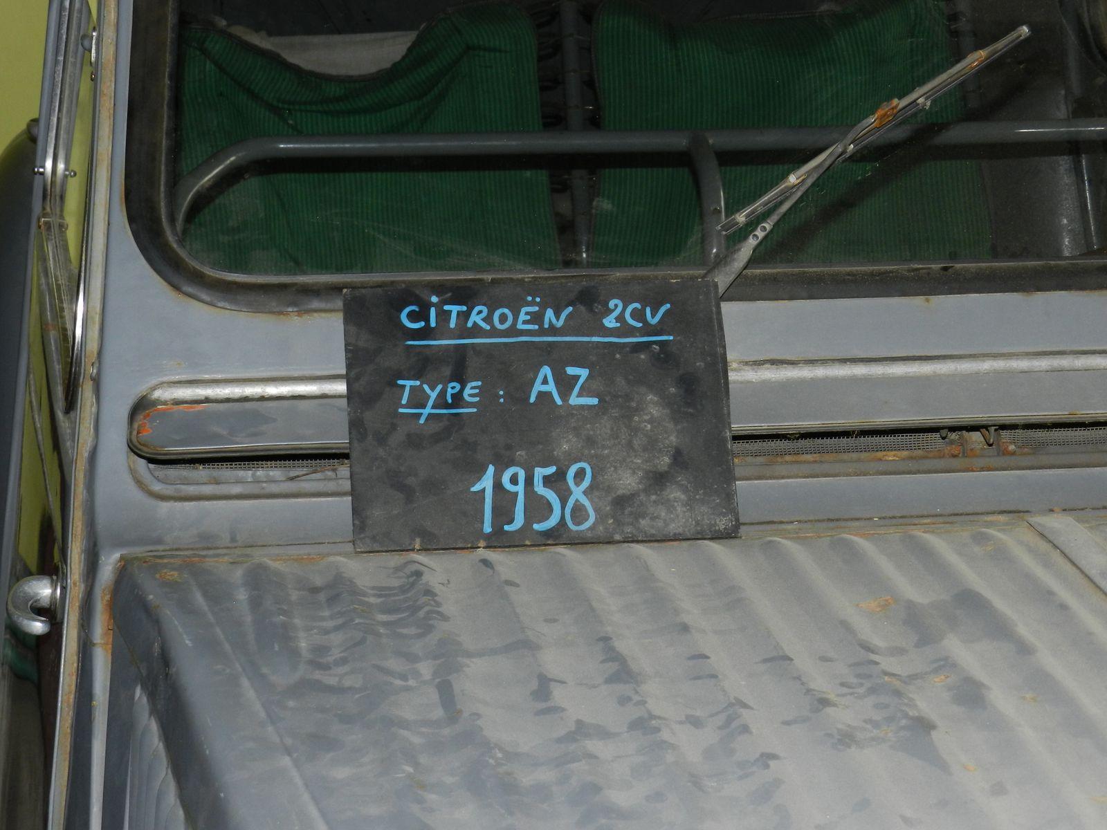 2 CV type AZ 1958