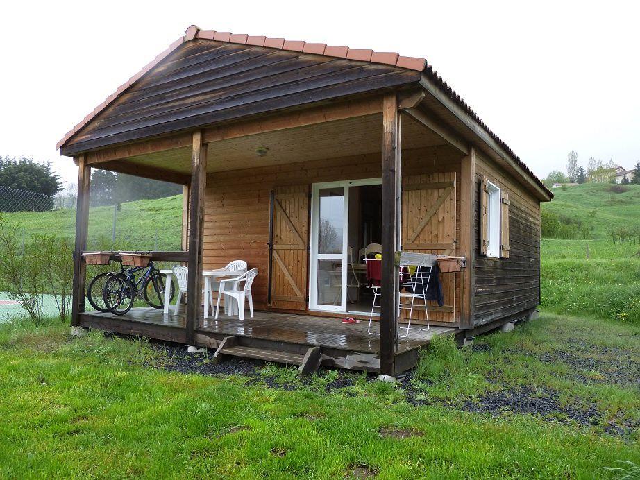"""Chalet du camping """"L'Estela"""" au Moulin de Savin"""