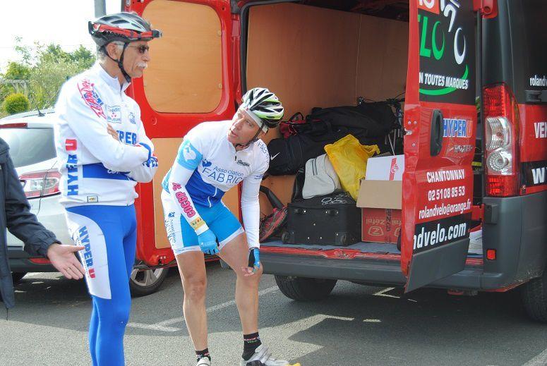 André Vinatier et Philippe Lièvre au départ.
