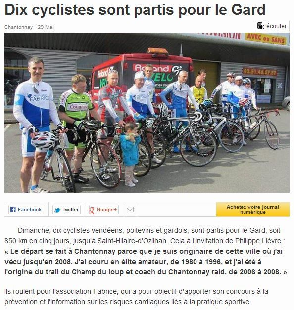 OUEST-FRANCE 29.05.2014