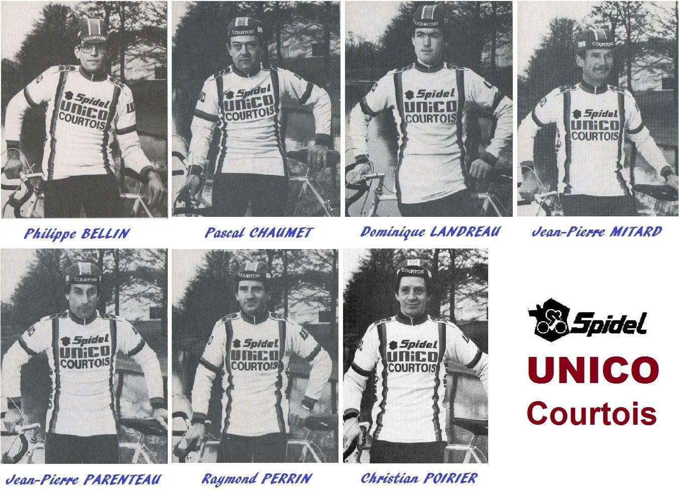 Fondateurs de grandes structures cyclistes amateurs années 80