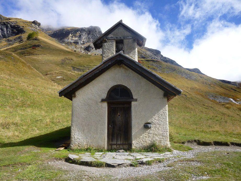 La chapelle de la Saulce.