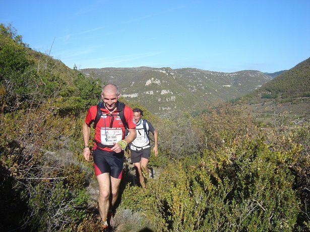 Didier Turcaud au Trail des Templiers en 2008.