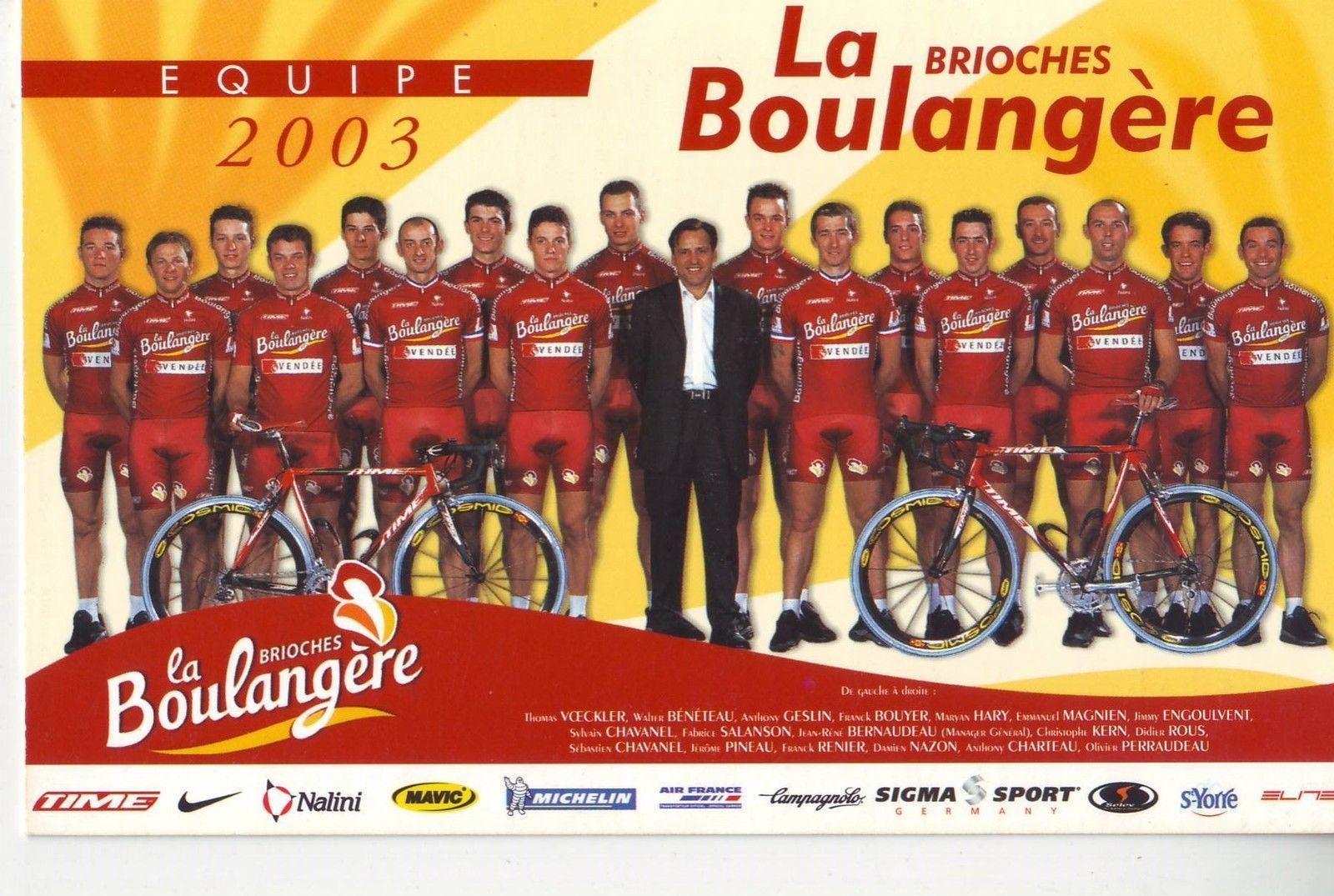Etoile de Bessèges 2002 et 2003.