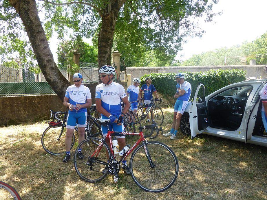 Vendée - Gard 2016 : Le cycliste et sa machine (3/10).