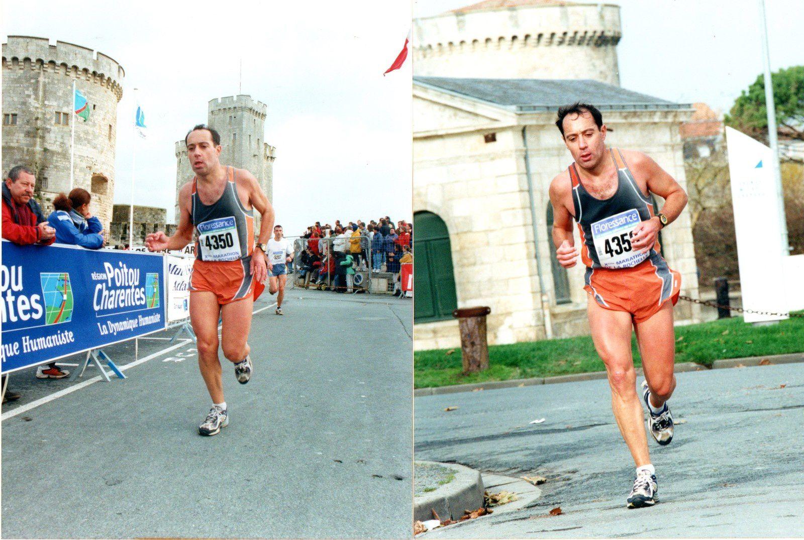 Marathon de La Rochelle en 2000.