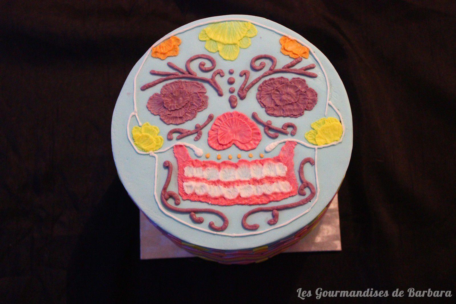 Gâteau Pâte à sucre aztèque/mexique
