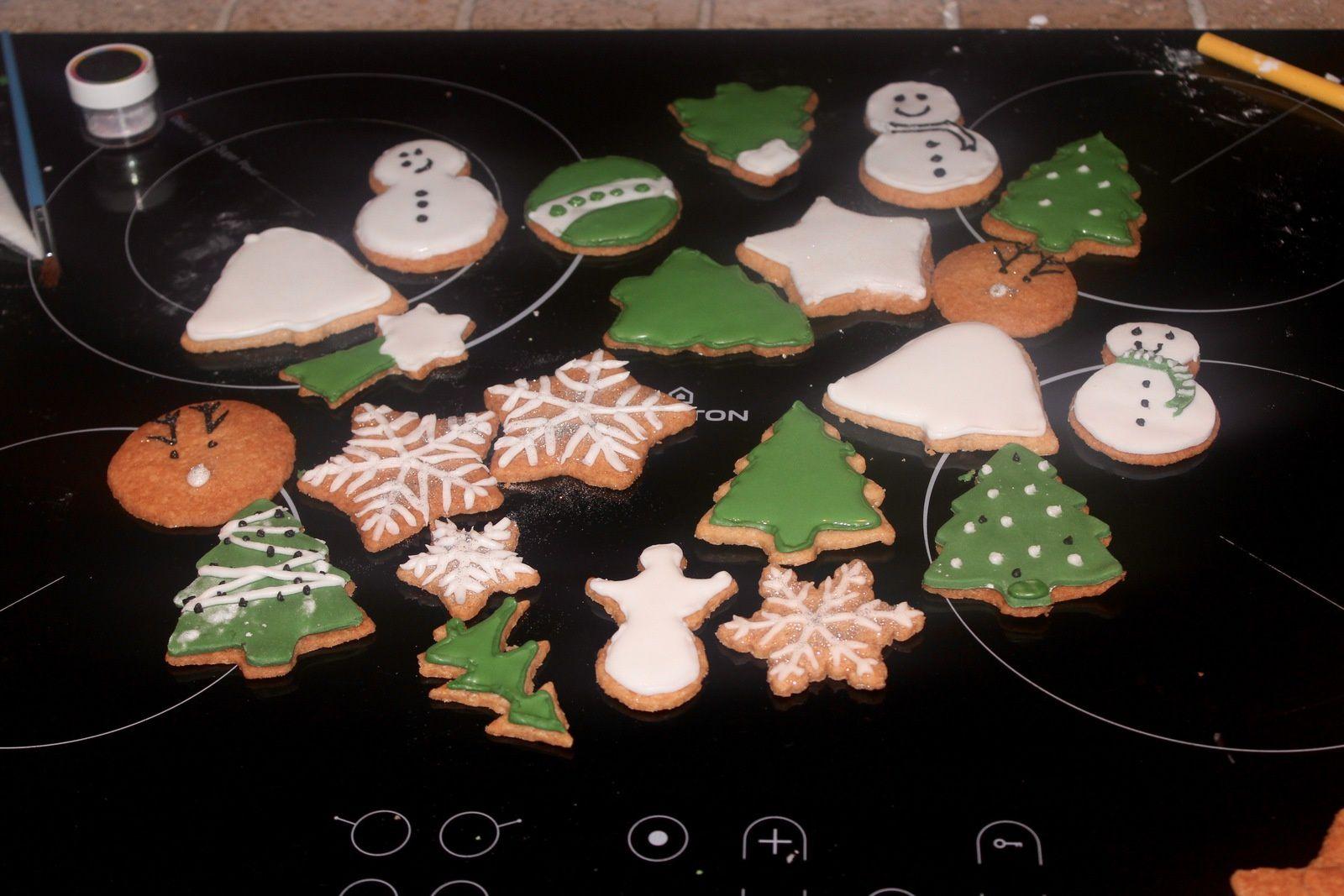 Atelier Sablés décorés thème Noël