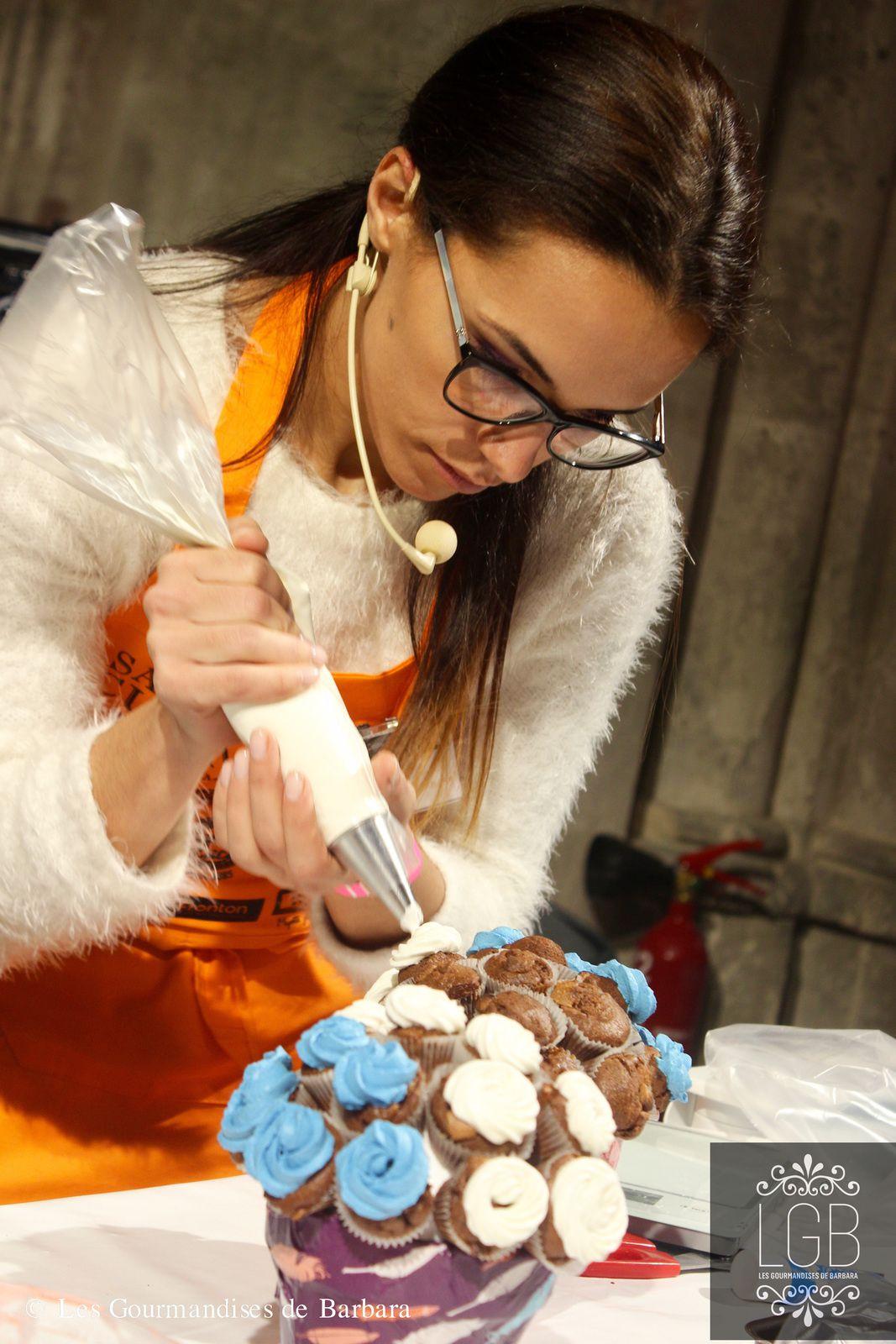 Bouquet de cupcakes au Salon du Blog Culinaire 8 à Soissons