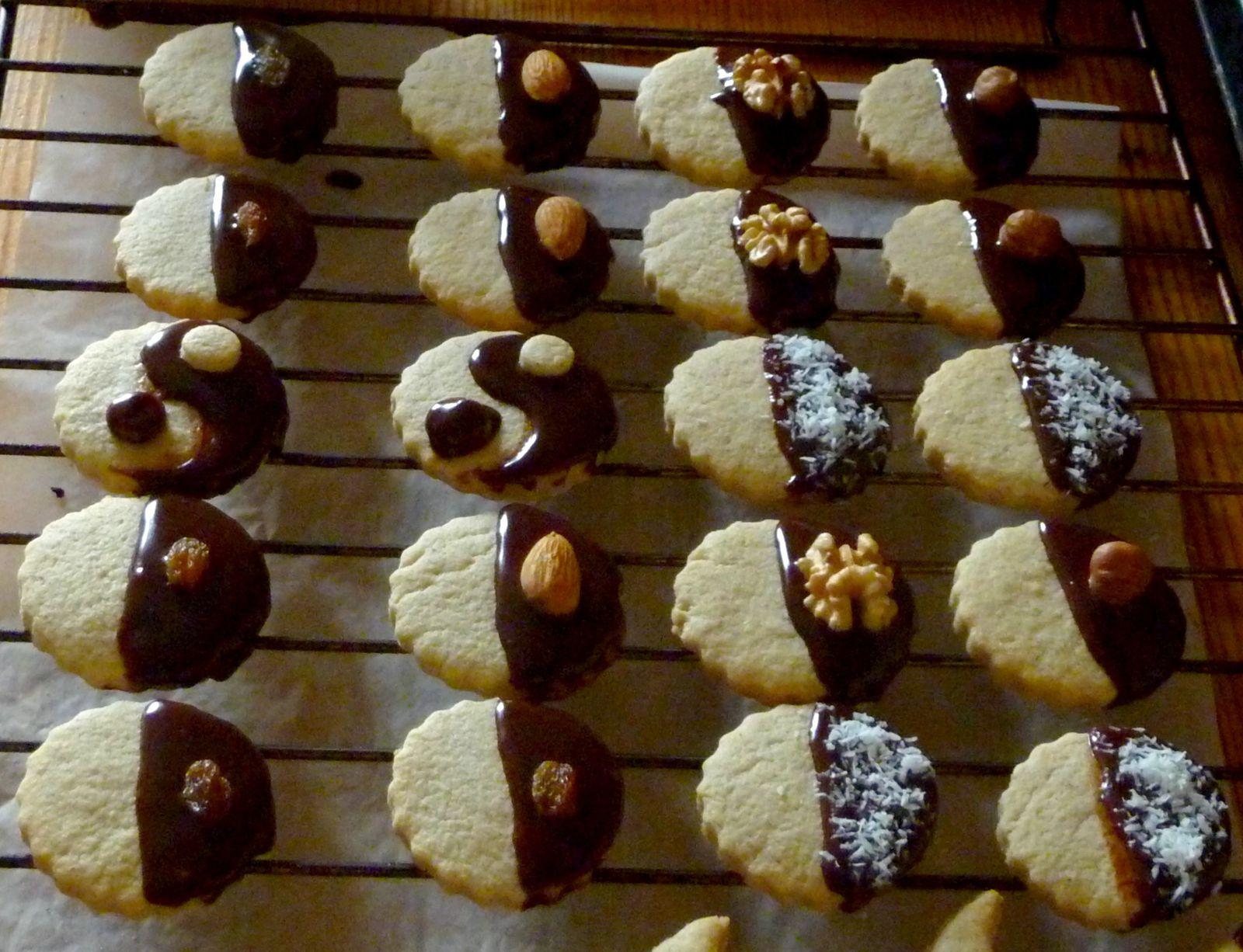 Biscuits mendiants à la cannelle