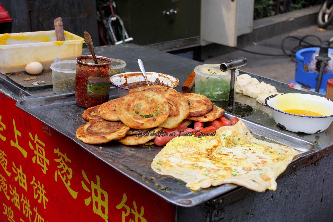 Carnets de Chine : Cōng Yóu Bǐng 葱油饼, La Pizza Chinoise