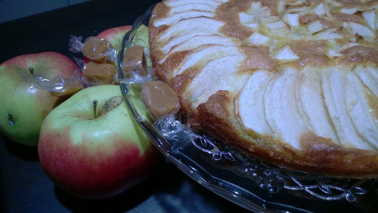 Gateau pommes-caramel (sans gluten)