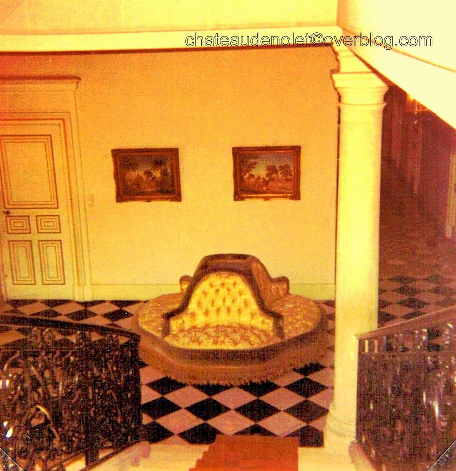 Le 1er étage du château de 1941 à 1996